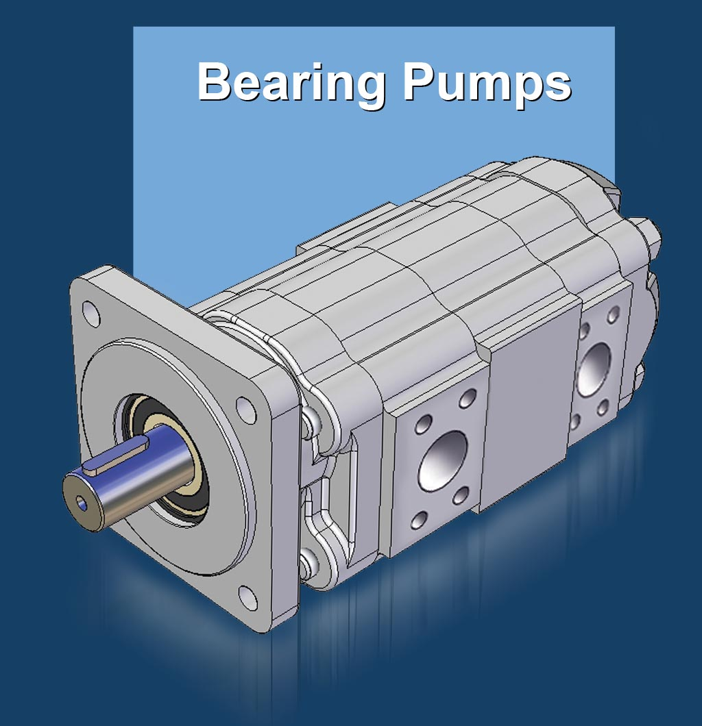 GPM Bearing Gear Pump Range