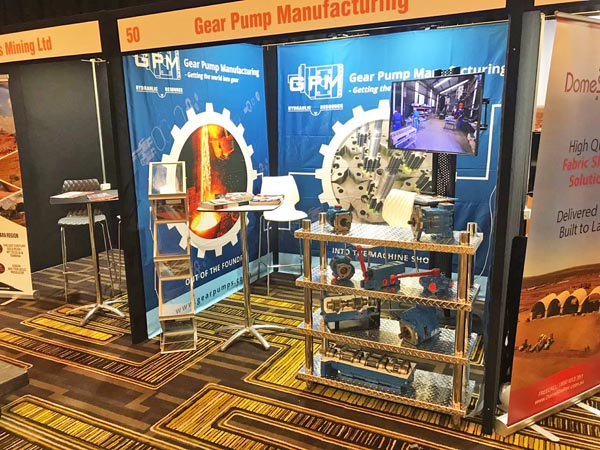 GPM & Hydraulic Resource Booth at Down Under Conference